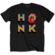 The Rolling Stones - Honk Letters Men's XX-Large T-Shirt - Black