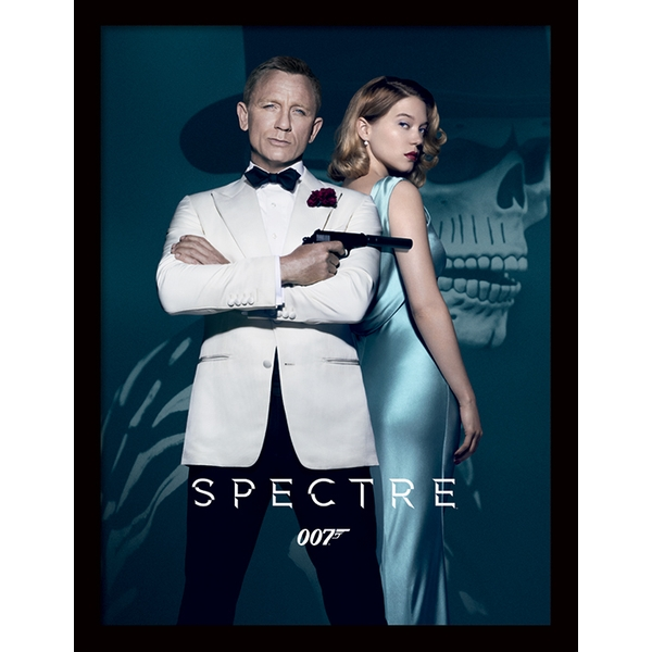 James Bond - Spectre One Sheet Framed 30 x 40cm Print - Image 1