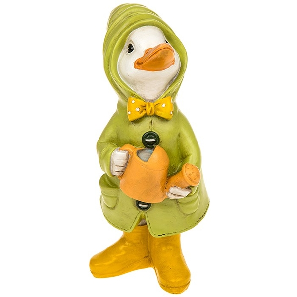 Puddle Duck With Watering Can Ornament