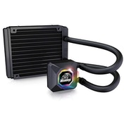 Akasa Venom R10 Universal Socket 120mm Radiator RGB CPU Block CPU Liquid Cooler - Fan Not Included