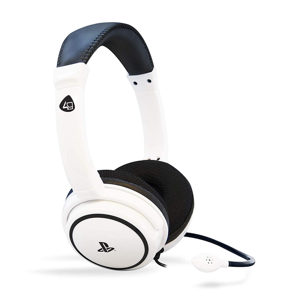 4Gamers Pro4 40 Stereo White Headset