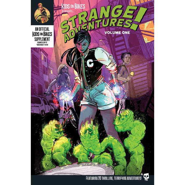Strange Adventures Vol.1 (Softcover) Kids on Bikes RPG Board Game