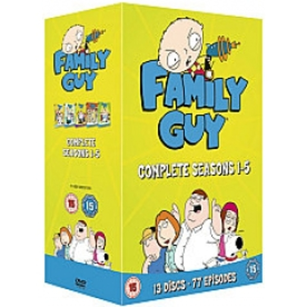 Family Guy - Complete Series 1-5 DVD
