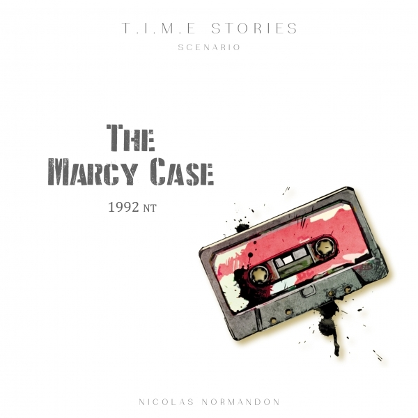 T.I.M.E Stories The Marcy Case Expansion Board Game