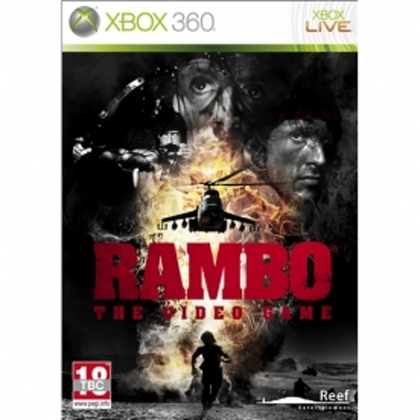Rambo the Video Game Xbox 360