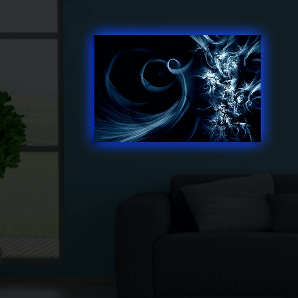 4570DACT-37 Multicolor Decorative Led Lighted Canvas Painting