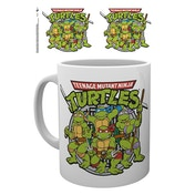 Teenage Mutant Ninja Turtles - Retro Logo Mug