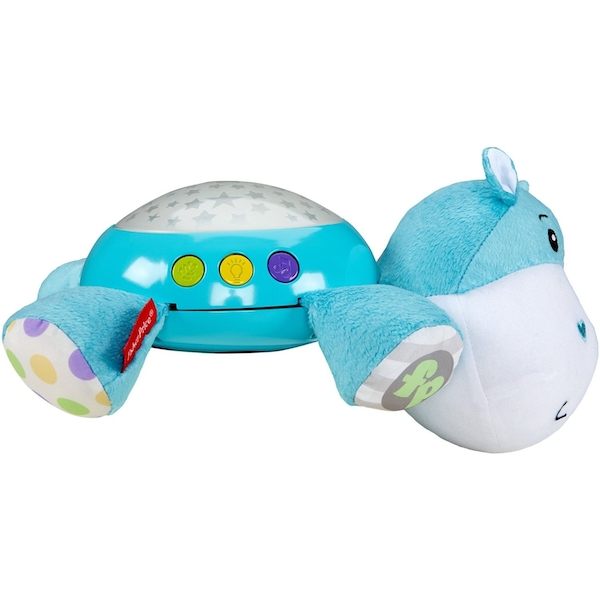 Fisher Price - Hippo Plush Snuggle Projection Soother