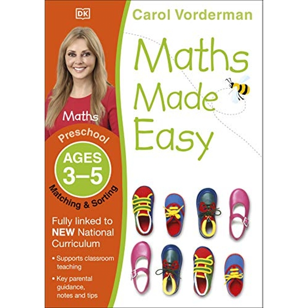 Maths Made Easy Matching And Sorting Preschool Ages 3-5 by Carol Vorderman (Paperback, 2014)