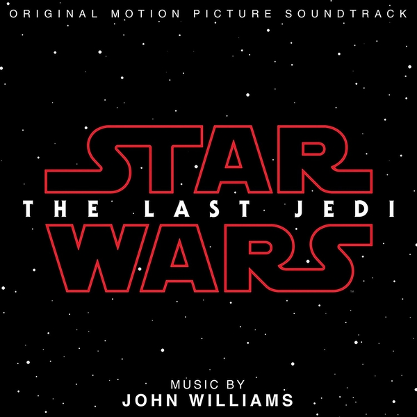 The Last Jedi Soundtrack OST CD