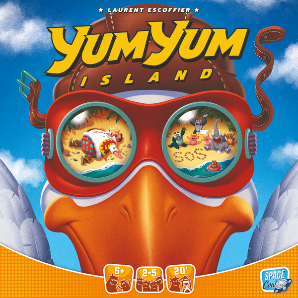 Yum Yum Island Board Game