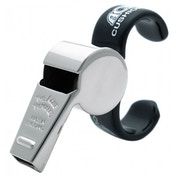 Acme Thunderer Fingergrip Whistle Silver