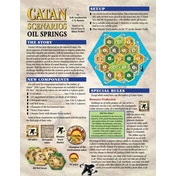 Catan Scenarios Oil Springs Board Game