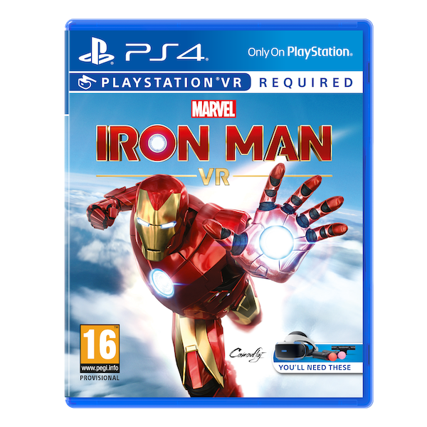 Marvel's Iron Man VR PS4 Game (PSVR Required)