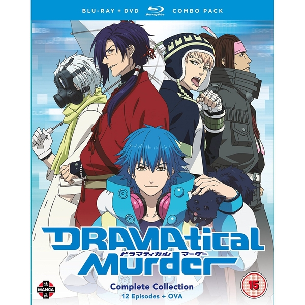 DRAMAtical Murder Complete Season Blu-ray/DVD Combo