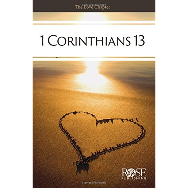PAMPHLET: 1 Corinthians 13 The Love Chapter Pamphlet 2018