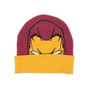 Marvel Captain America: Civil War Knitted Iron Man Pattern Cuffed Beanie