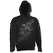 Fatal Attraction Men's X-Large Gothic Black Strap Hoodie - Black - Image 2