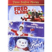 Three Festive Movies - Fred Claus/National Lampoons Christmas Vacation/Jack Frost DVD