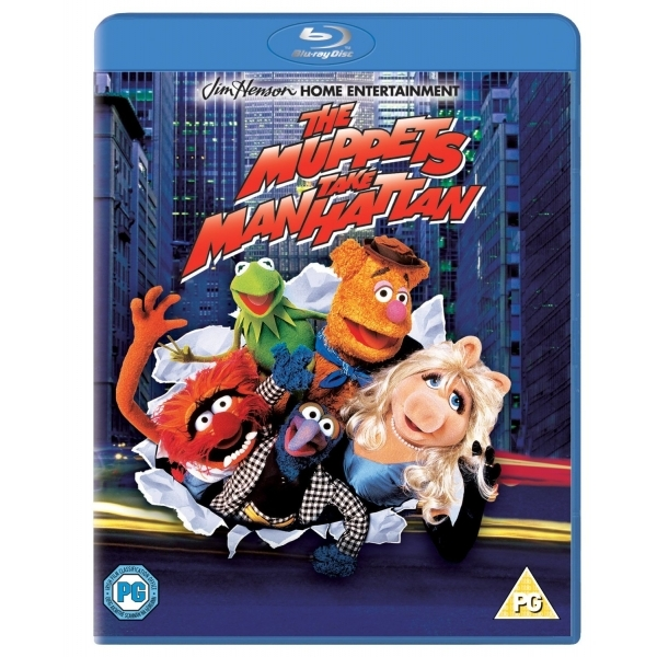 Muppets Take Manhattan Blu-ray