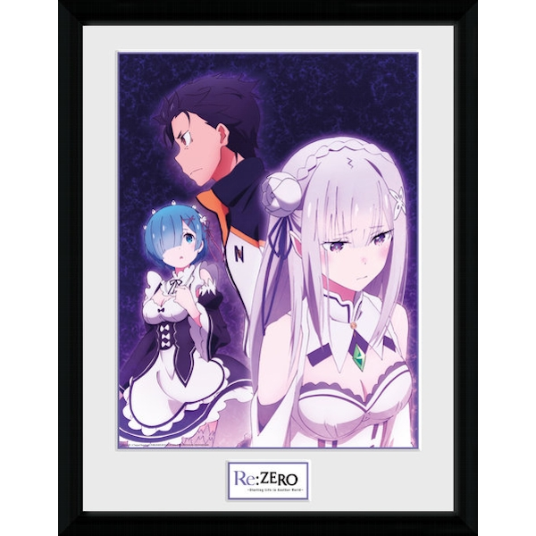 Re-Zero Trio Collector Print