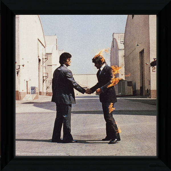 Pink Floyd Wish You Were Here Framed Album Cover