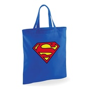 Superman - Logo Bag - Blue