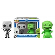 Jack Skellington & Oogie Boogie (Disney nightmare Before Christmas) Mini Funko Pop! Figure 2-Pack