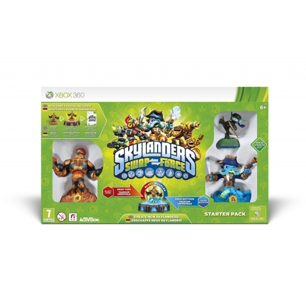Skylanders Swap Force Starter Pack Game + Hex Character Pack Xbox 360