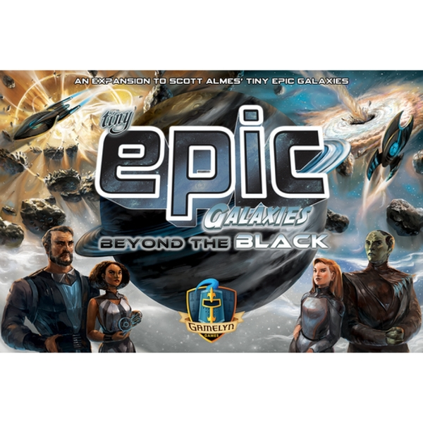 Tiny Epic Galaxies Beyond the Black Board Game