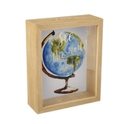 See The World Travel Fund Frame Glass Money Box