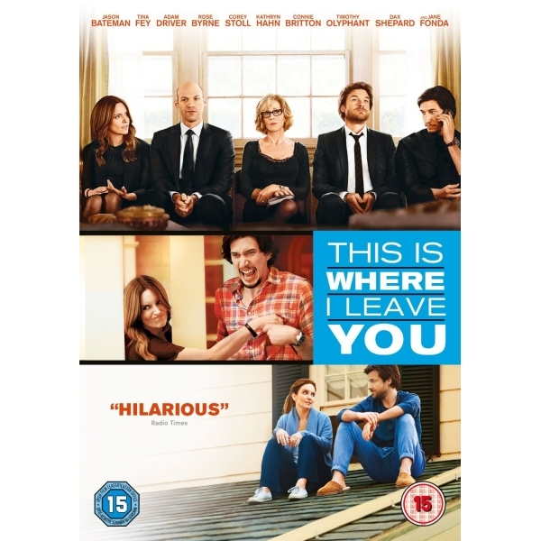 This Is Where I Leave You DVD