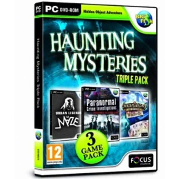 Haunting Mysteries Triple Pack Game PC