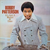 Bobby Patterson - It's Just A Matter Of Time Purple Vinyl