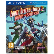 Earth Defense Force 2 Invaders from Planet Space PS Vita Game