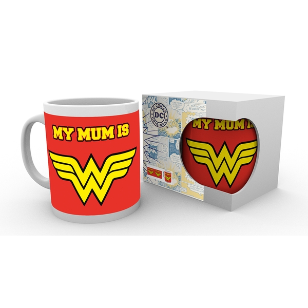 Wonder Woman My Mum Mug - Image 1