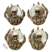 The Forgotten (Pack Of 4) Skull Globes