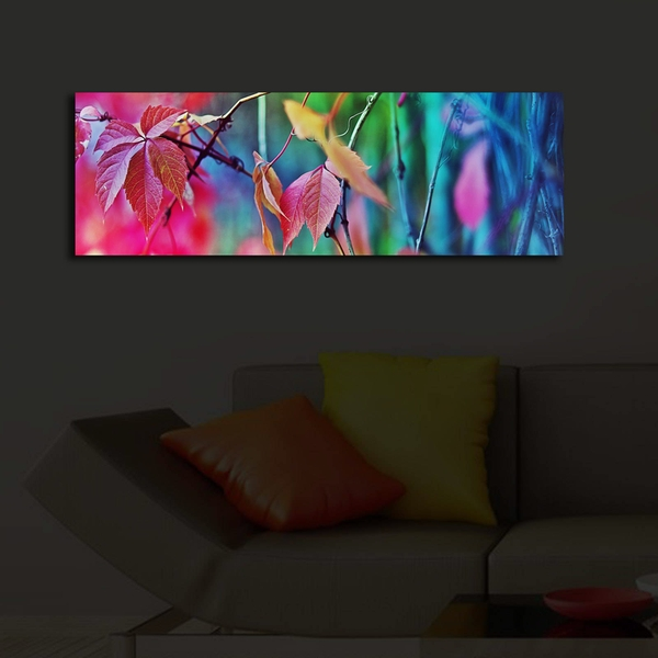 3090?ACT-47 Multicolor Decorative Led Lighted Canvas Painting