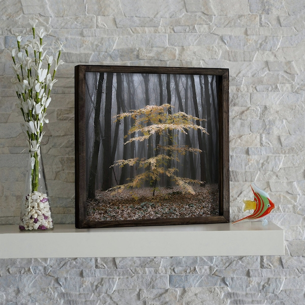 KZM260 Multicolor Decorative Framed MDF Painting