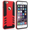 YouSave Accessories iPhone 6 Plus / 6s Plus Border Combo Case - Red