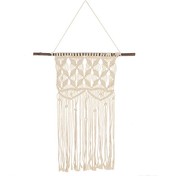Cream Macrame Wall Hanging