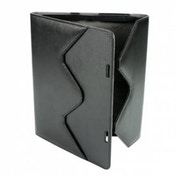 Leather Case Stand iPad 2 Black