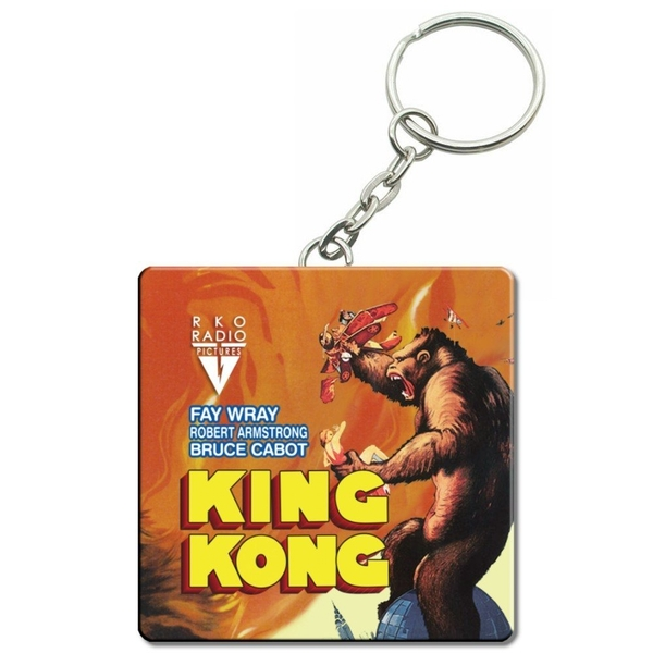King Kong Original Film Poster Key Ring (1933)