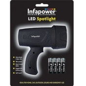 Infapower F017 300m 3W Ultra Bright LED Spotlight Black