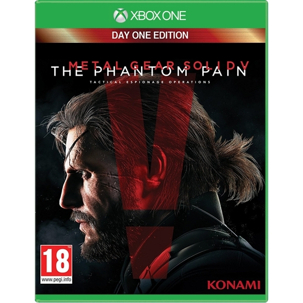 Ex-Display Metal Gear Solid V The Phantom Pain Day One Edition Xbox One Game Used - Like New