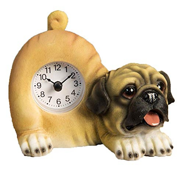 Best of Breed - Pug Mantel clock