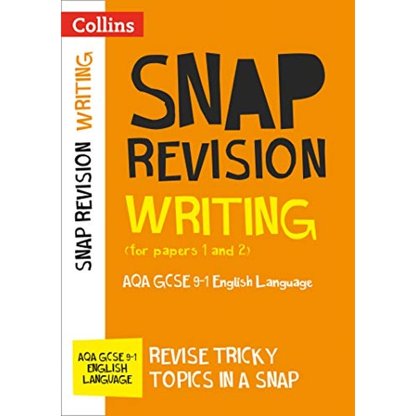 Writing (for papers 1 and 2): AQA GCSE English Language (Collins Snap Revision) by Collins GCSE (Paperback, 2017)