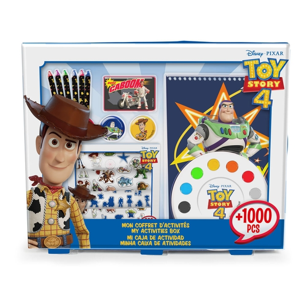 Disney Toy Story 4 My Activities Box with 1000 Pieces Creative Accessory Set