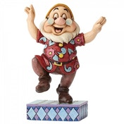 Dancing Doc (Snow White) Disney Traditions Figurine