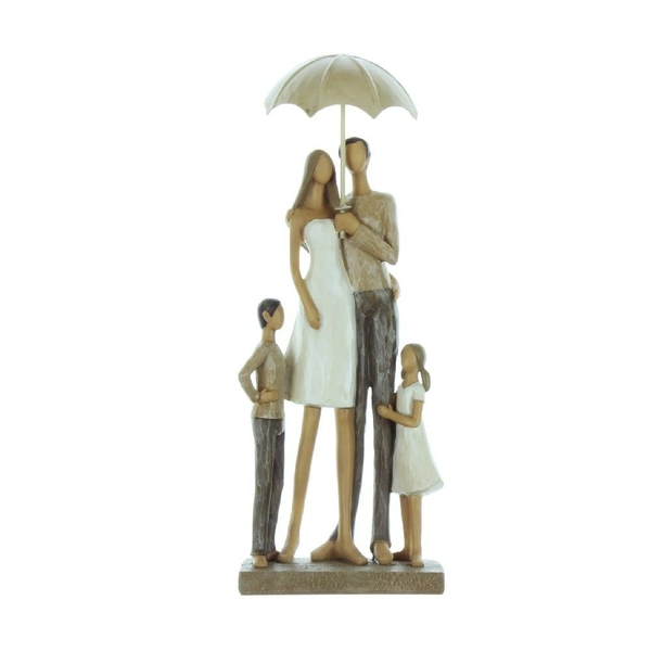 Rainy Day Collection Family Resin Figurine   30cm